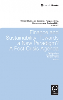 Jacket image for Finance and Sustainability