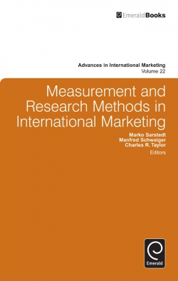 Jacket image for Measurement and Research Methods in International Marketing