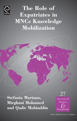 Jacket image for The Role of Expatriates in MNCs Knowledge Mobilization