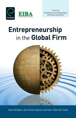Jacket image for Entrepreneurship in the Global Firm