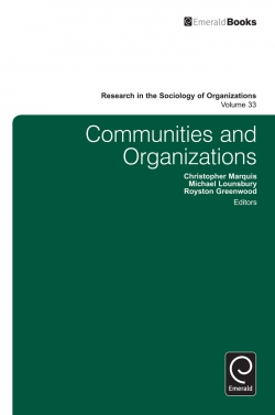 Jacket image for Communities and Organizations