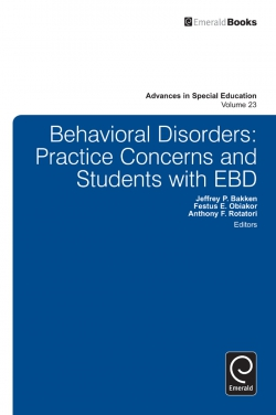 Jacket image for Behavioral Disorders