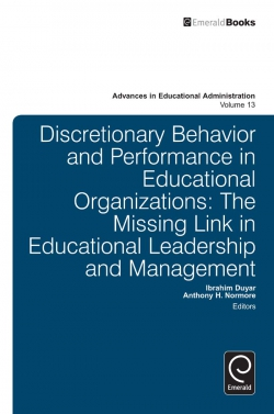 Jacket image for Discretionary Behavior and Performance in Educational Organizations