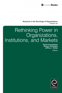 Jacket image for Rethinking Power in Organizations, Institutions, and Markets