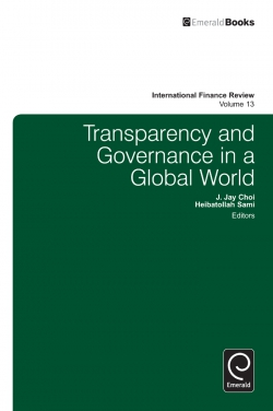 Jacket image for Transparency in Information and Governance