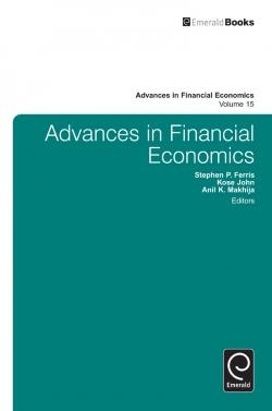 Jacket image for Advances in Financial Economics