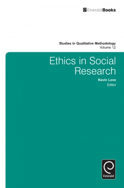 Jacket image for Ethics in Social Research