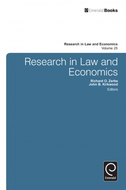 Jacket image for Research in Law and Economics