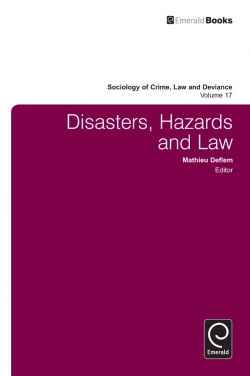 Jacket image for Disasters, Hazards and Law