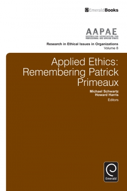 Jacket image for Applied Ethics