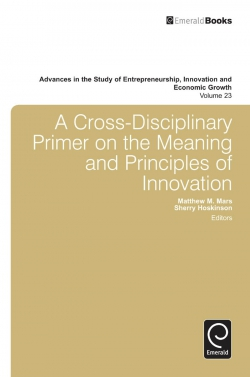 Jacket image for A Cross- Disciplinary Primer on the Meaning of Principles of Innovation