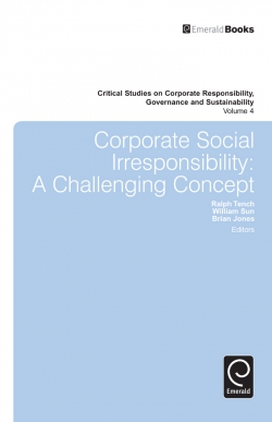 Jacket image for Corporate Social Irresponsibility
