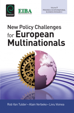 Jacket image for New Policy Challenges For European Multinationals