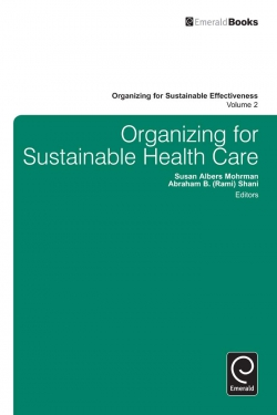 Jacket image for Organizing for Sustainable Healthcare
