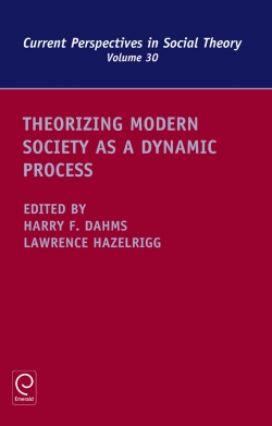Jacket image for Theorizing Modern Society as a Dynamic Process