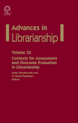 Jacket image for Contexts for Assessment and Outcome Evaluation in Librarianship