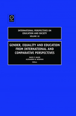 Jacket image for Gender, Equality and Education from International and Comparative Perspectives