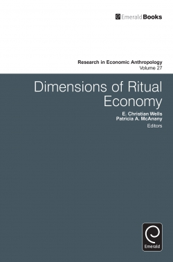 Jacket image for Dimensions of Ritual Economy