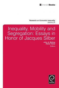 Jacket image for Inequality, Mobility, and Segregation