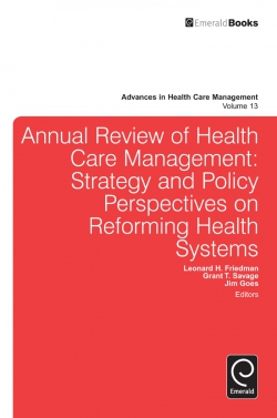 Jacket image for Annual Review of Health Care Management