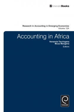 Jacket image for Accounting in Africa