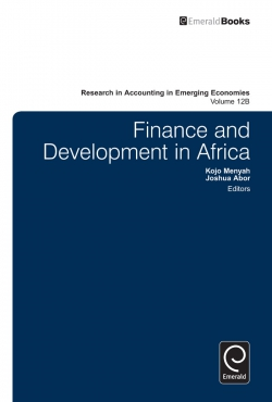 Jacket image for Finance and Development in Africa