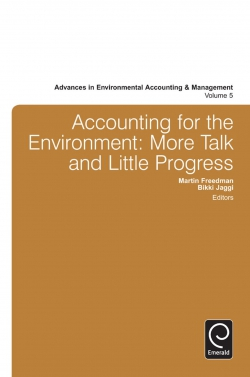 Jacket image for Accounting for the Environment