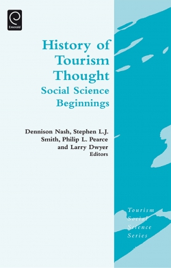 Jacket image for History of Tourism Thought