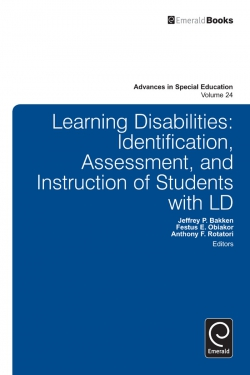 Jacket image for Learning Disabilities