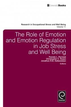 Jacket image for The Role of Emotion and Emotion Regulation in Job Stress and Well Being