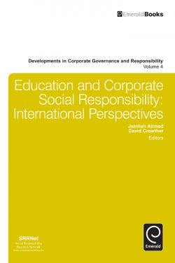 Jacket image for Education and Corporate Social Responsibility