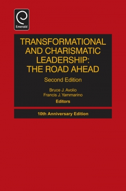 Jacket image for Transformational and Charismatic Leadership