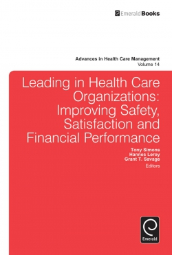Jacket image for Leading In Health Care Organizations