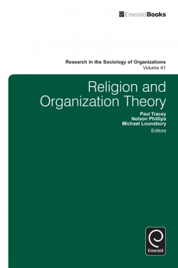 Jacket image for Religion and Organization Theory