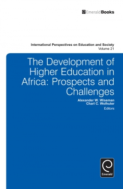 Jacket image for Development of Higher Education in Africa