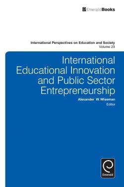 Jacket image for International Educational Innovation and Public Sector Entrepreneurship