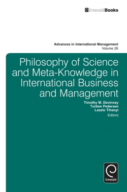 Jacket image for Philosophy of Science and Meta-Knowledge in International Business and Management