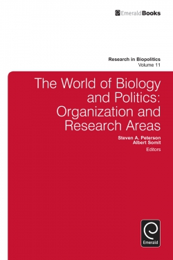 Jacket image for The World of Biology and Politics