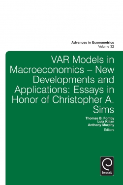 Jacket image for Var Models in Macroeconomics - New Developments and Applications