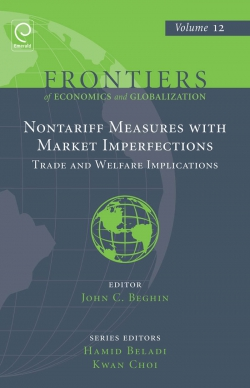 Jacket image for Non Tariff Measures with Market Imperfections