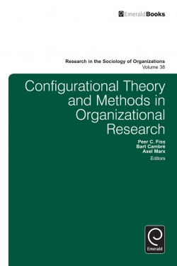 Jacket image for Configurational Theory and Methods in Organizational Research