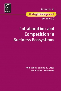 Jacket image for Collaboration and Competition in Business Ecosystems