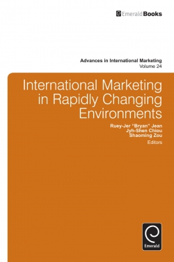 Jacket image for International Marketing in Fast Changing Environment