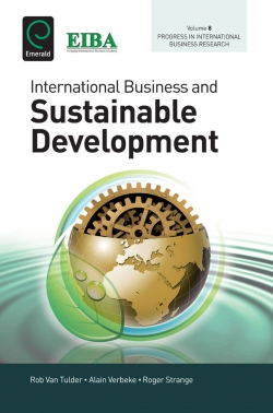 Jacket image for International Business and Sustainable Development