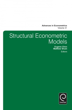 Jacket image for Structural Econometric Models