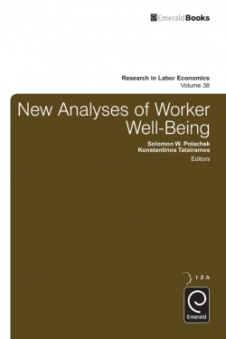 Jacket image for New Analyses in Worker Well-Being