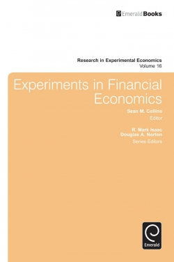 Jacket image for Experiments in Financial Economics