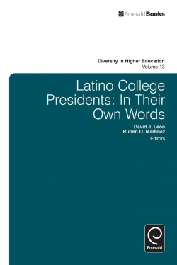Jacket image for Latino College Presidents