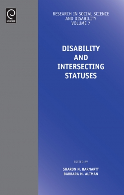 Jacket image for Disability and Intersecting Statuses