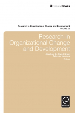 Jacket image for Research in Organizational Change and Development